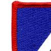 172nd Infantry Regiment Flash Patch | Upper Left Quadrant