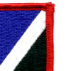 172nd Infantry Regiment Flash Patch | Upper Right Quadrant
