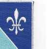170th Infantry Regiment Patch | Upper Right Quadrant