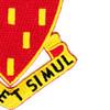 78th Field Artillery Regiment Patch   Lower Right Quadrant