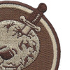 164th Airlift Squadron Desert Patch | Upper Right Quadrant