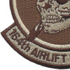 164th Airlift Squadron Desert Patch | Lower Left Quadrant