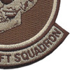 164th Airlift Squadron Desert Patch | Lower Right Quadrant