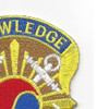 163rd Military Intelligence Battalion Patch | Upper Right Quadrant