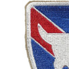 163rd Infantry Regimental Combat Team Patch | Upper Left Quadrant
