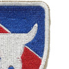 163rd Infantry Regimental Combat Team Patch | Upper Right Quadrant