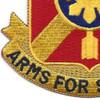 163rd Field Artillery Regiment Patch DUI | Lower Left Quadrant
