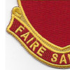 161st Field Artillery Battalion Patch | Lower Left Quadrant