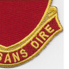 161st Field Artillery Battalion Patch | Lower Right Quadrant