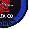 78th Aviation Life Support Equipment Battalion D Company Patch Avionics   Lower Right Quadrant