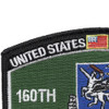 160th Special Operations Aviation Regiment MOS Rating Patch Night Salkers | Upper Left Quadrant