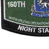160th Special Operations Aviation Regiment MOS Rating Patch Night Salkers | Lower Left Quadrant