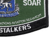 160th Special Operations Aviation Regiment MOS Rating Patch Night Salkers | Lower Right Quadrant