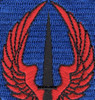 160th SOAR 101st Airborne Division Patch RED WING | Center Detail