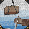 15th Special Naval Construction Battalion WWII Patch | Center Detail