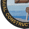 15th Special Naval Construction Battalion WWII Patch | Lower Left Quadrant