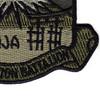 78th Aviation Battalion Patch OD   Lower Right Quadrant