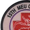 15th MEU CASEVAC Patch | Upper Left Quadrant
