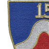 15th Infantry Regiment-A Patch NYG | Upper Left Quadrant