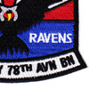 78th Aviation Battalion A Company Patch | Lower Right Quadrant