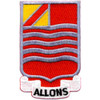 15th Field Artillery Battalion Patch Allons - Version A