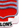 15th Field Artillery Battalion Patch Allons - Version A | Lower Right Quadrant