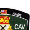 15th Cavalry Regiment MOS Patch 1957-1967   Upper Right Quadrant