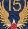 15th Air Force Shoulder Patch