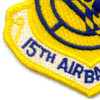 15th Air Base Wing Patch | Lower Left Quadrant