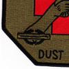 159th Medical Detachment Air Ambulance Patch Dustoff OD | Lower Left Quadrant