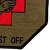 159th Medical Detachment Air Ambulance Patch Dustoff OD | Lower Right Quadrant