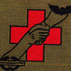 159th Medical Detachment Air Ambulance Patch Dustoff OD | Center Detail