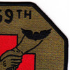 159th Medical Detachment Air Ambulance Patch Dustoff OD | Upper Right Quadrant