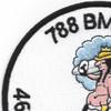 788th Bombardment Squadron 467th Bomb Group Patch | Upper Left Quadrant