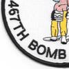 788th Bombardment Squadron 467th Bomb Group Patch | Lower Left Quadrant