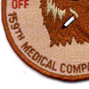 159th Medical Company (Forward) Patch | Lower Left Quadrant