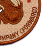 159th Medical Company (Forward) Patch | Lower Right Quadrant