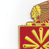 158th Field Artillery Regiment Patch | Upper Left Quadrant