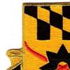 158th Cavalry Regiment Patch | Upper Left Quadrant