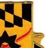 158th Cavalry Regiment Patch | Upper Right Quadrant