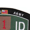 "1st Infantry Division Ratings Patch ""The Big Red One"" 