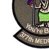 1st Foward Medical Surgical Team 377th Medical Company Patch | Lower Left Quadrant