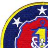 1st Fleet Patch Insignia | Upper Left Quadrant