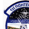 1st Fighter Wing Patch F-22 Integration Office | Upper Left Quadrant