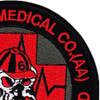 1st Detachment 832nd Aviation Medical Company Air Ambulance Patch   Upper Right Quadrant