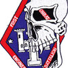 1st Combat Engineering Battalion Patch Super Breed   Center Detail