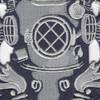 1st Class Diver Badge Patch | Center Detail