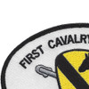 1st Cavalry Division Small Version Patch | Upper Left Quadrant
