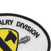 1st Cavalry Division Small Version Patch   Upper Right Quadrant
