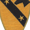 1st Cavalry Division Patch Version C | Center Detail